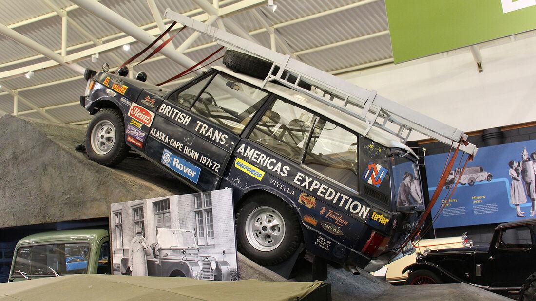 Range Rover Darien Gap Expedition Vehicle im British Motor Museum