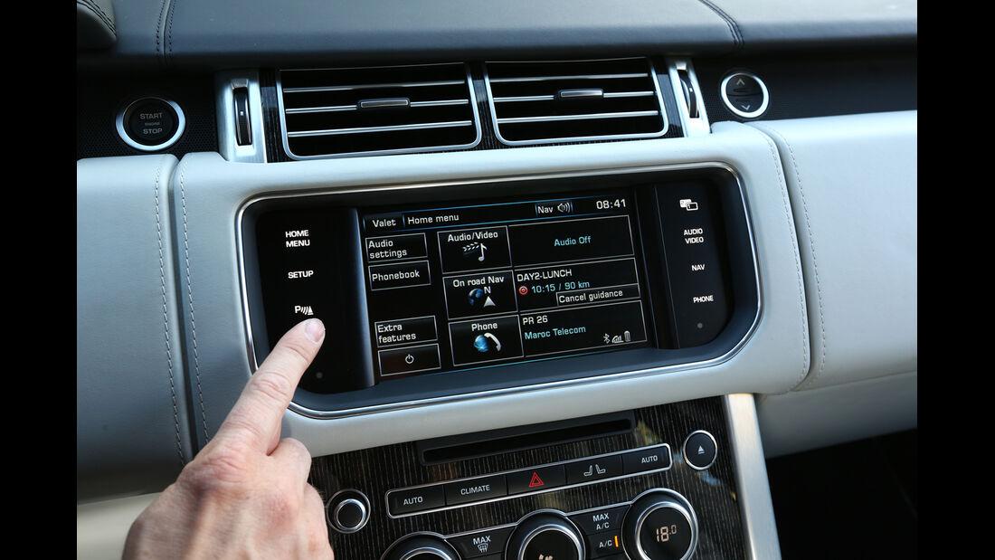 Range Rover, Display, Navi