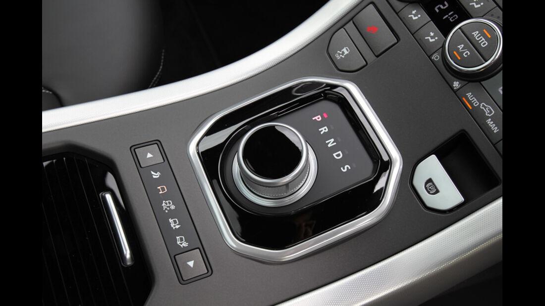 Range Rover Evoque 2.0 Si4, Drehschalter, Gang, Automatik