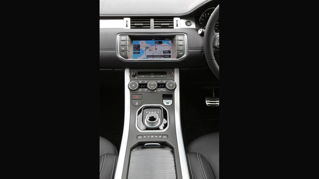 Range Rover Evoque 2.0 Si4, Mittelkonsole, Navi