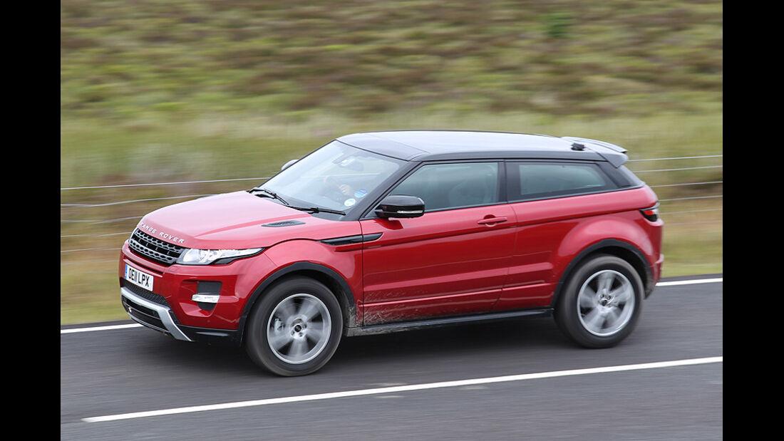 Range Rover Evoque 2.0 Si4, Seitenansicht
