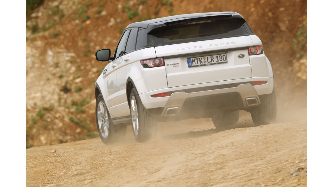 Range Rover Evoque 2.2 SD, Heckansicht