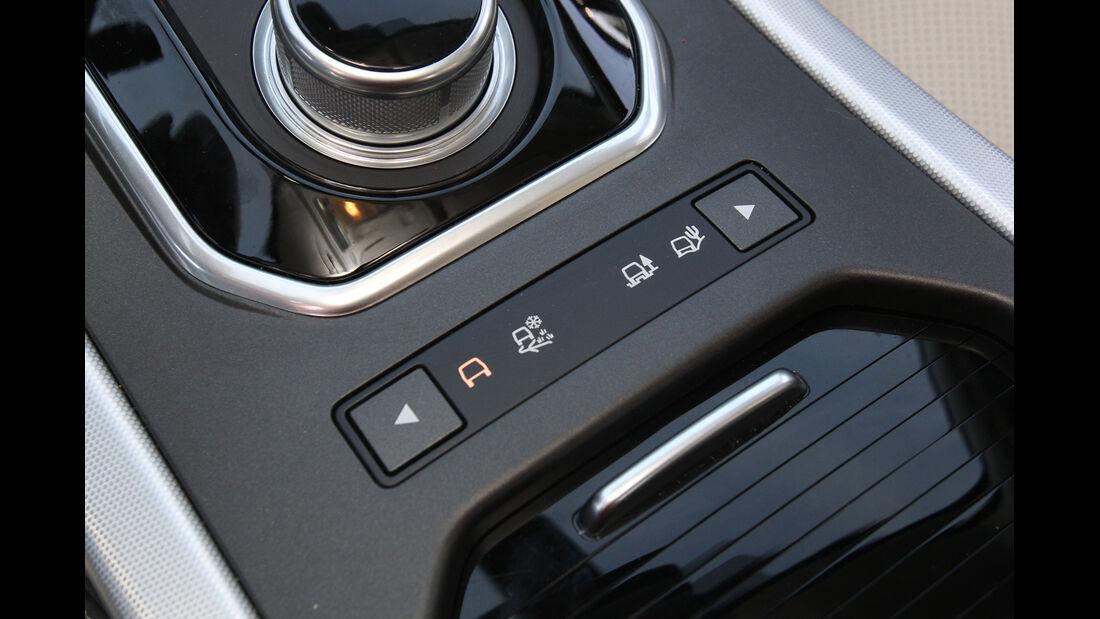 Range Rover Evoque 2.2 SD4 Dynamic, Bedienelemente