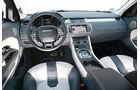 Range Rover Evoque 2.2 SD4 Dynamic, Cockpit, Lenkrad