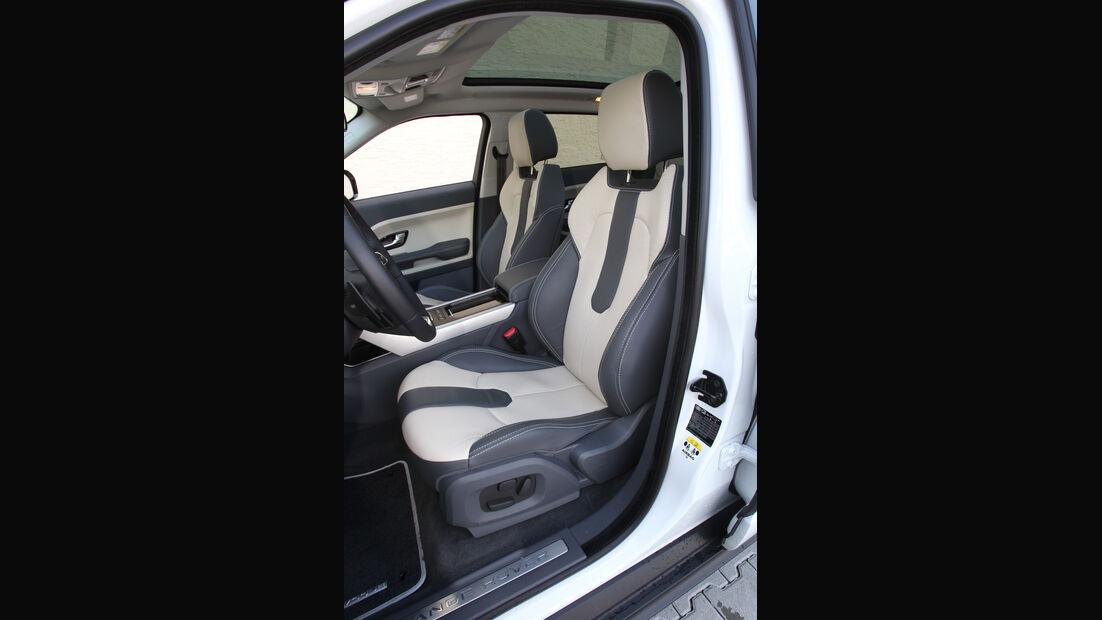 Range Rover Evoque 2.2 SD4 Dynamic, Fahrersitz
