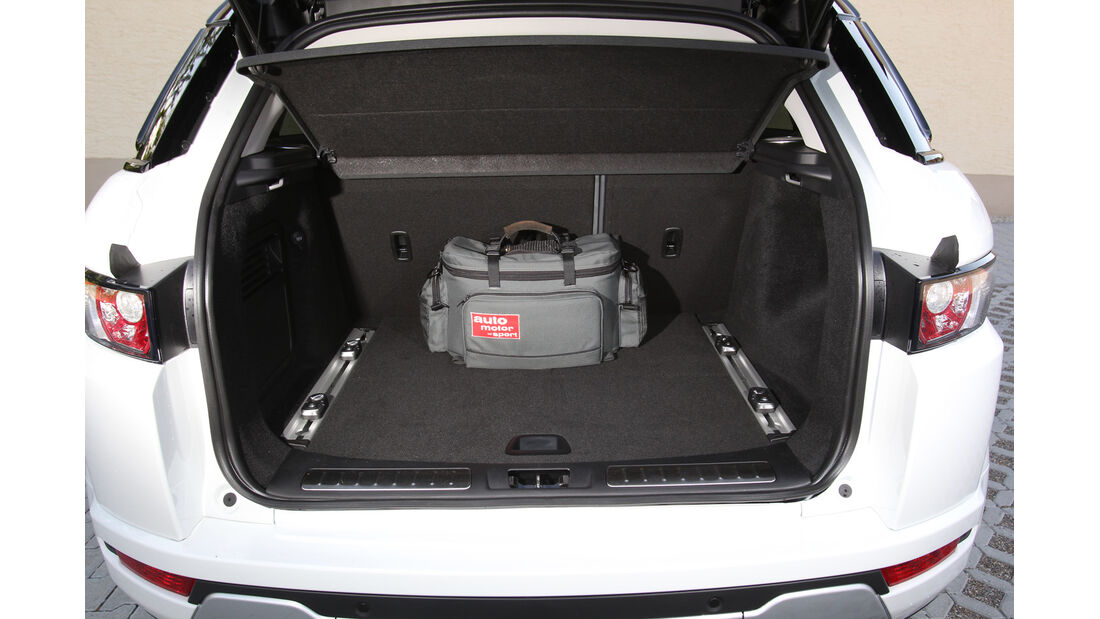 Range Rover Evoque 2.2 SD4 Dynamic, Kofferraum