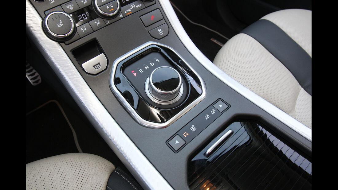 Range Rover Evoque 2.2 SD4 Dynamic, Mittelkonsole, Bedienelemente