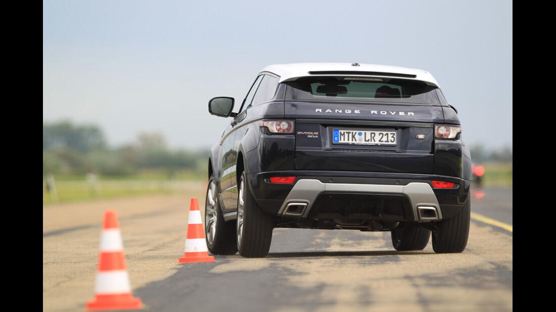 Range Rover Evoque 2.2 SD4 Dynamic, Pylonen