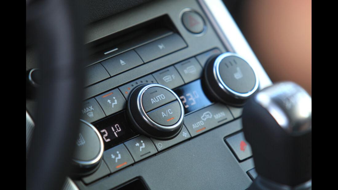 Range Rover Evoque 2.2 SD4 Dynamic, Regler