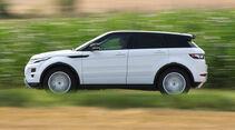 Range Rover Evoque 2.2 SD4 Dynamic, Seitenansicht