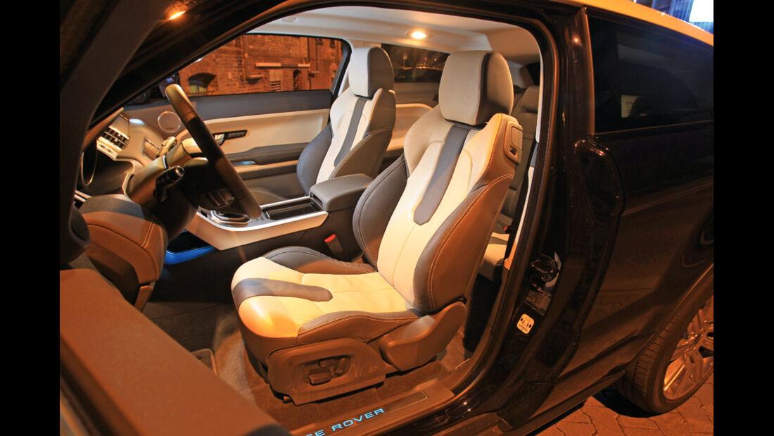 Range Rover Evoque 2.2 SD4 Dynamic, Sitze