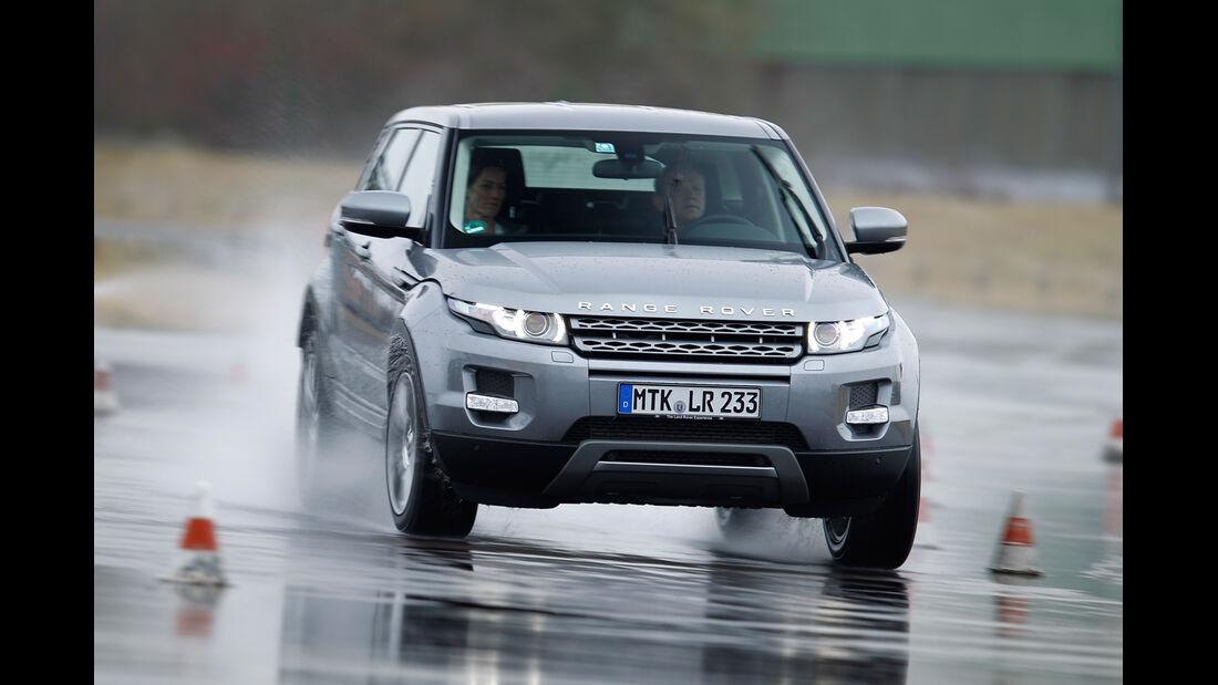 Range Rover Evoque 2.2 SD4, Frontansicht