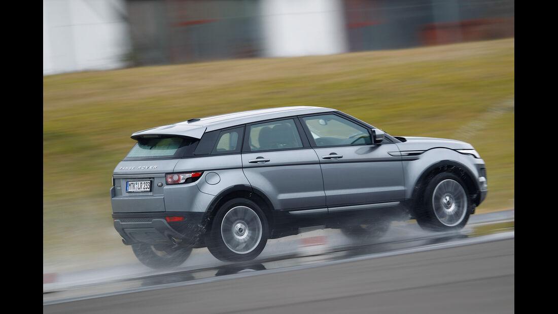 Range Rover Evoque 2.2 SD4, Seitenansicht