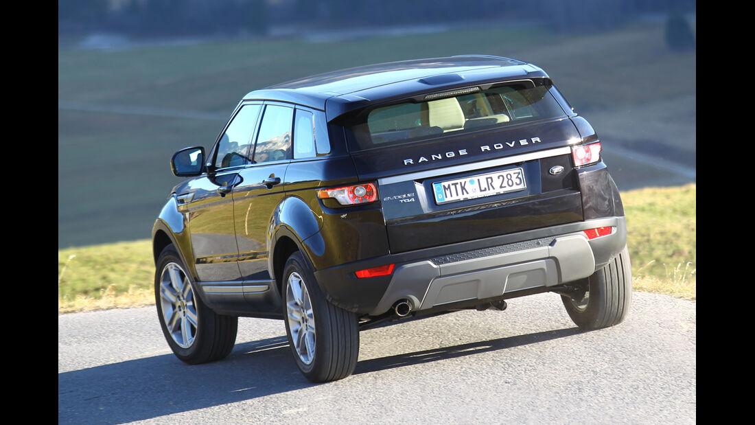 Range Rover Evoque 2.2 eD4, Heckansicht
