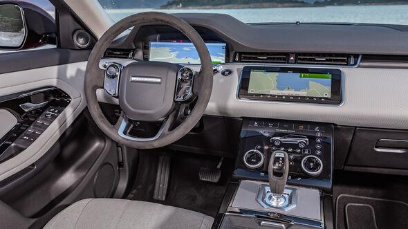 Range Rover Evoque 2019, Innenraum, Cockpit