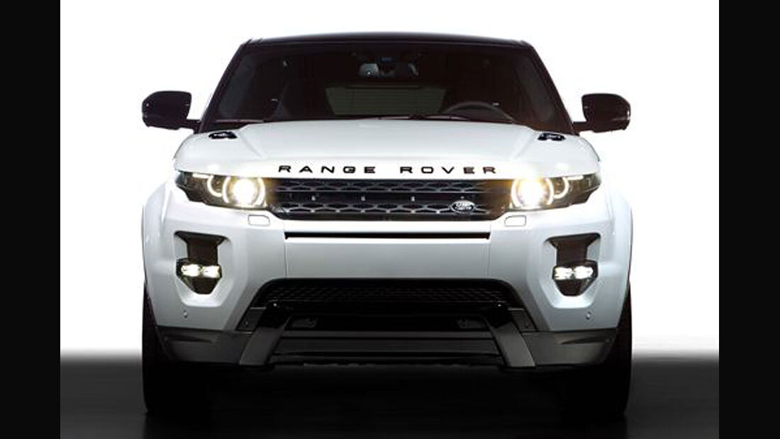 Range Rover Evoque Black Design