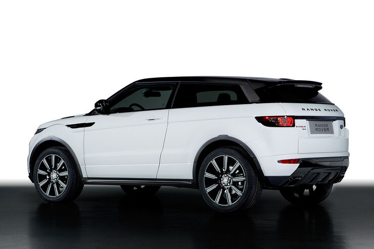 Range rover evoque in genf individueller mit black design for Auto individualisieren
