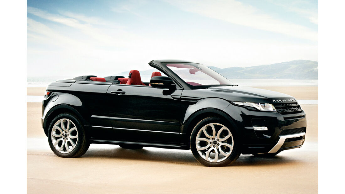 Range Rover Evoque, Cabrio