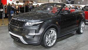 Range Rover Evoque Cabrio Auto-Salon Genf 2012