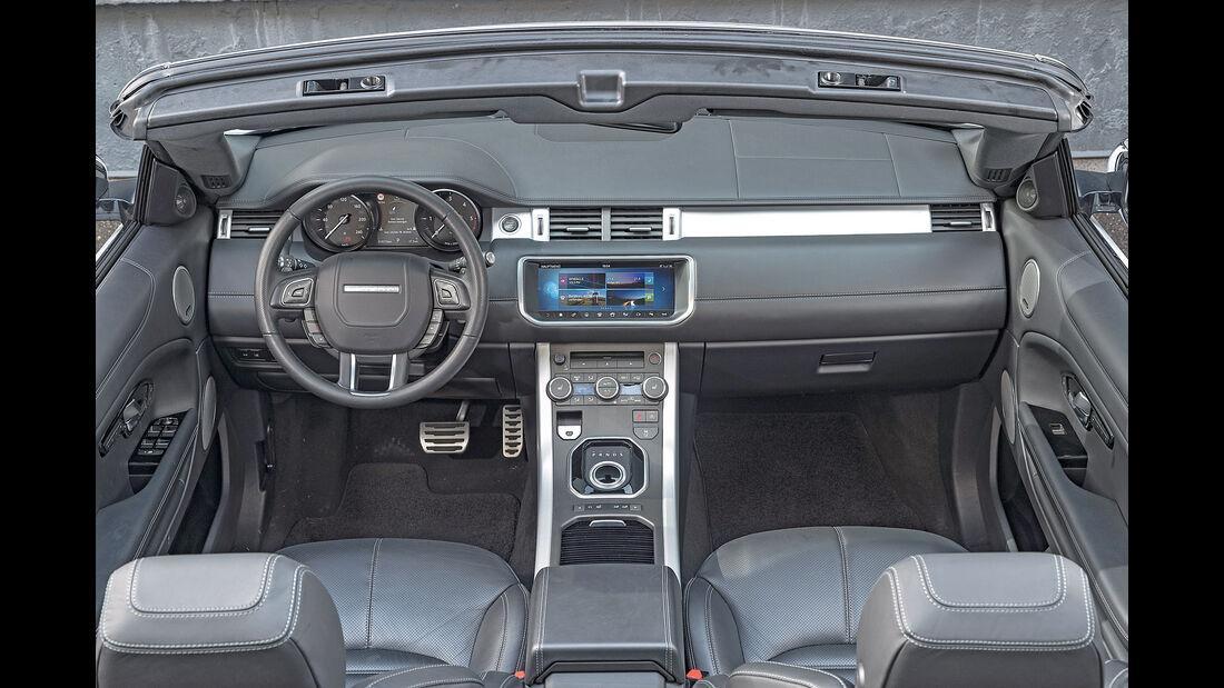 Range Rover Evoque Cabrio, Cockpit
