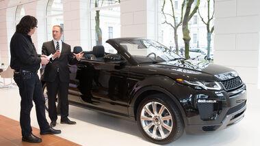 Range Rover Evoque Cabrio, Design, Phil Simmons