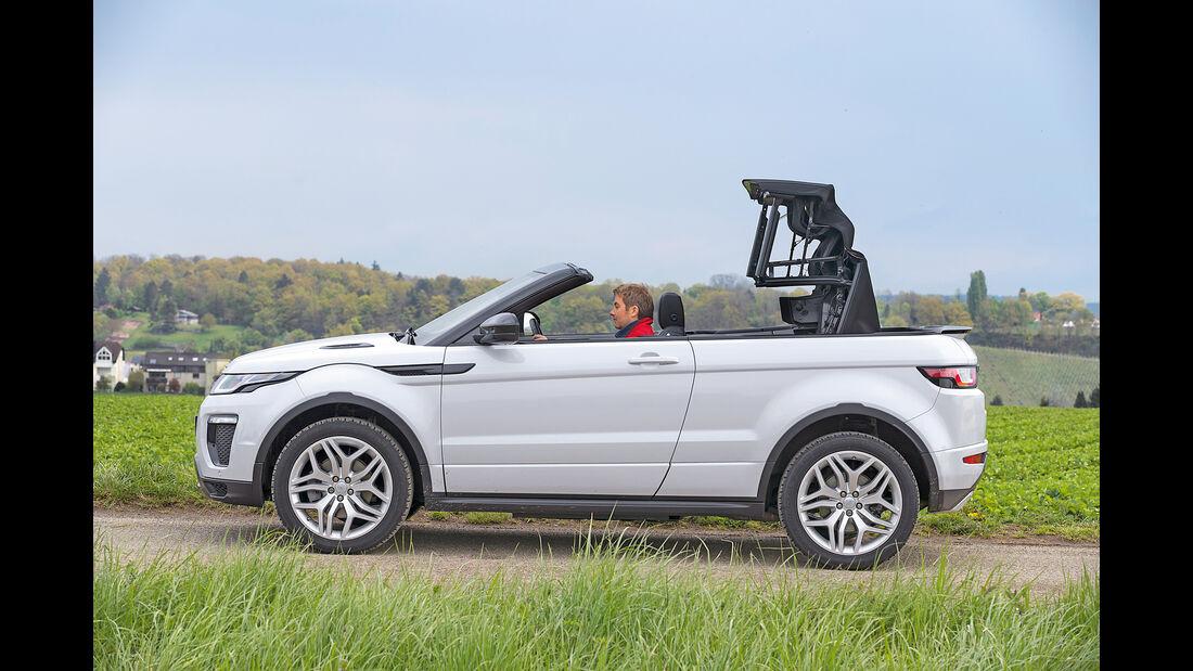 Range Rover Evoque Cabrio, Seitenansicht