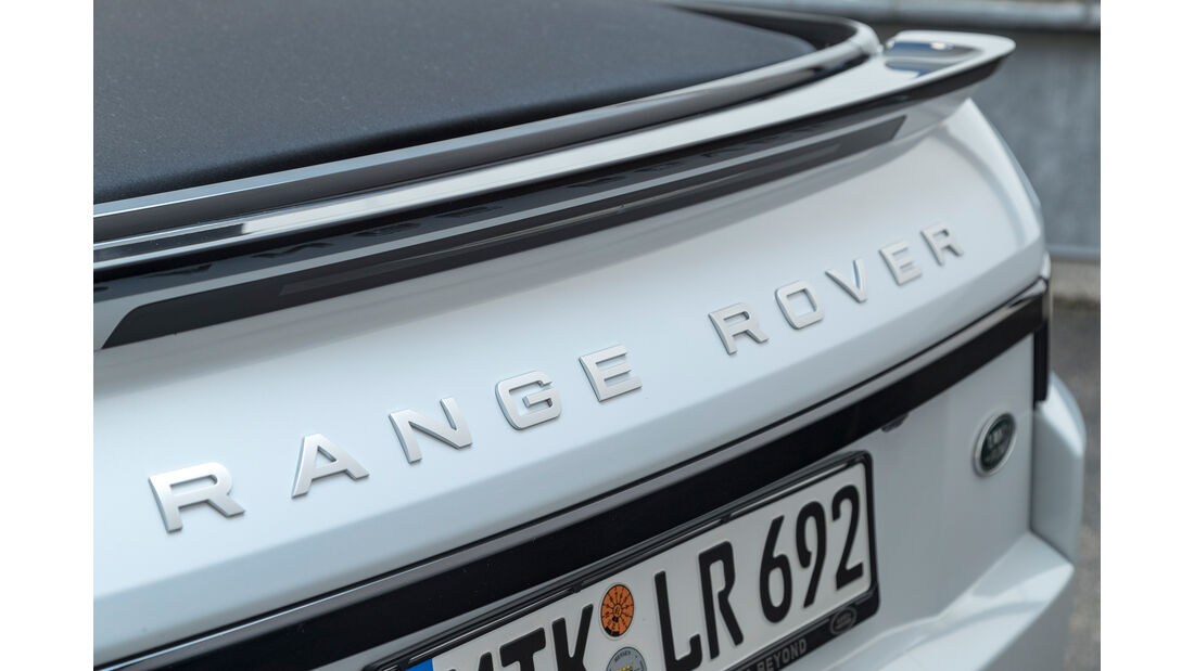 Range Rover Evoque Cabrio, Typenbezeichnung