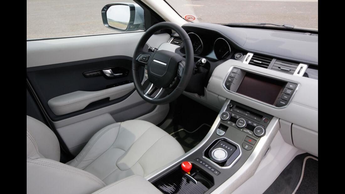 Range Rover Evoque, Cockpit, Fahrersitz