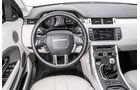 Range Rover Evoque, Cockpit, Lenkrad