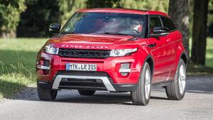 Range Rover Evoque Coupé 2.2 eD4 Dynamic, Frontansicht