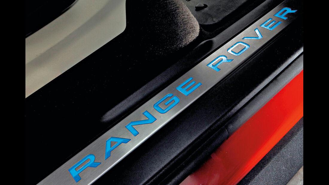 Range Rover Evoque, Einstiegsleiste