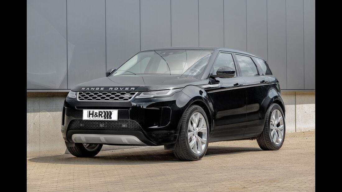 Range Rover Evoque, Exterieur