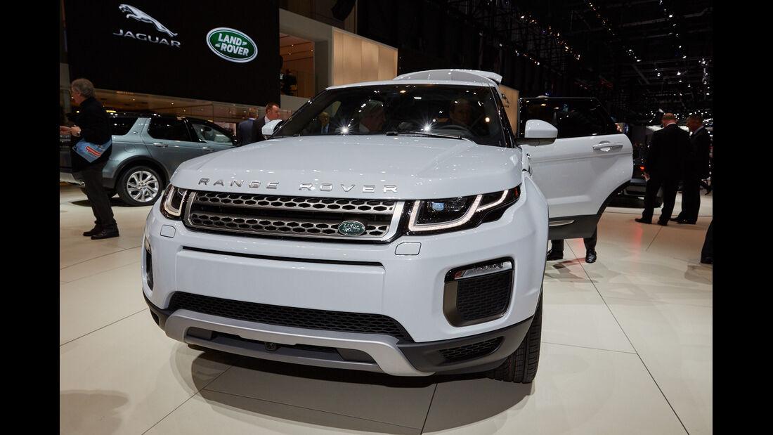 Range Rover Evoque Facelift -  SUV - Genfer Autosalon 2015
