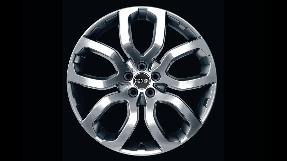 Range Rover Evoque, Felge