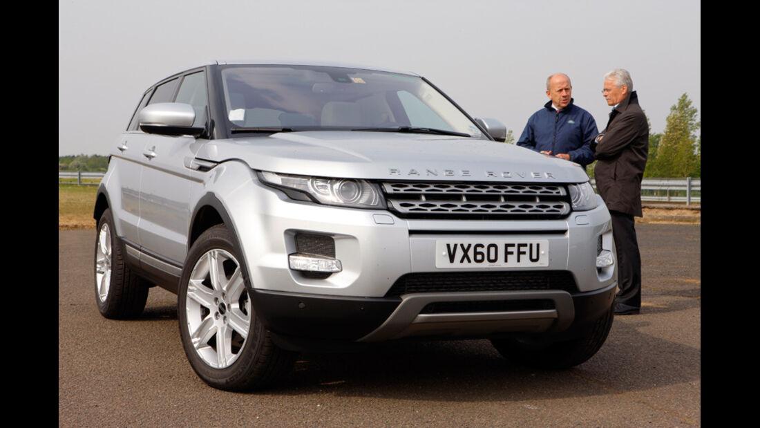 Range Rover Evoque, Frontansicht, Stand, Bernd Ostmann