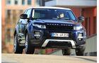 Range Rover Evoque, Frontansicht