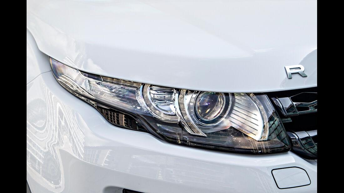 Range Rover Evoque, Frontscheinwerfer