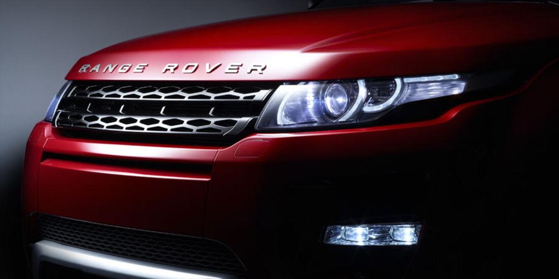 Range Rover Evoque Fünftürer, Scheinwerfer