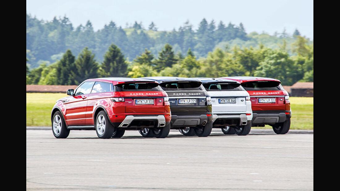 Range Rover Evoque, Heckansicht