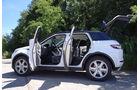 Range Rover Evoque, Innenraum-Check