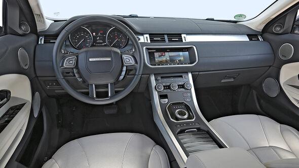 Range Rover Evoque, Interieur