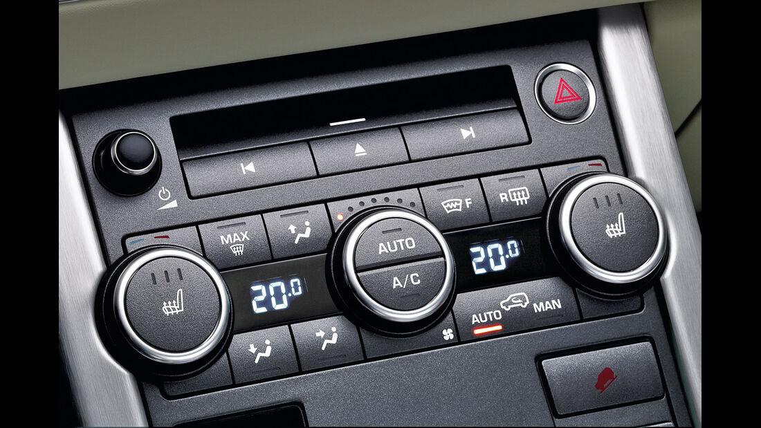 Range Rover Evoque, Klimaautomatik