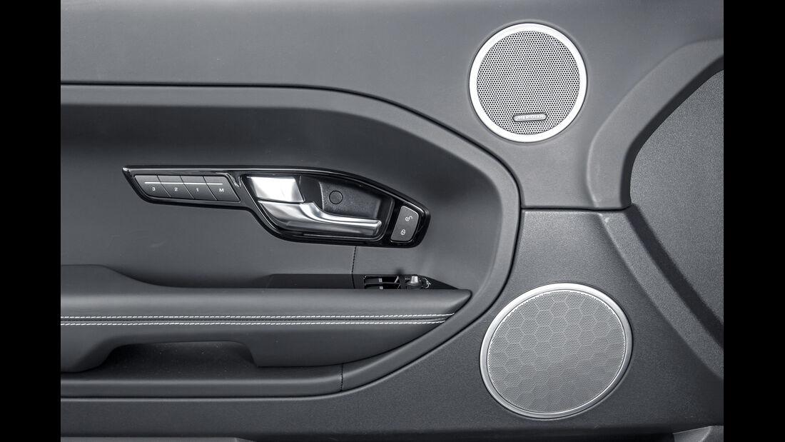 Range Rover Evoque, Lautsprecher
