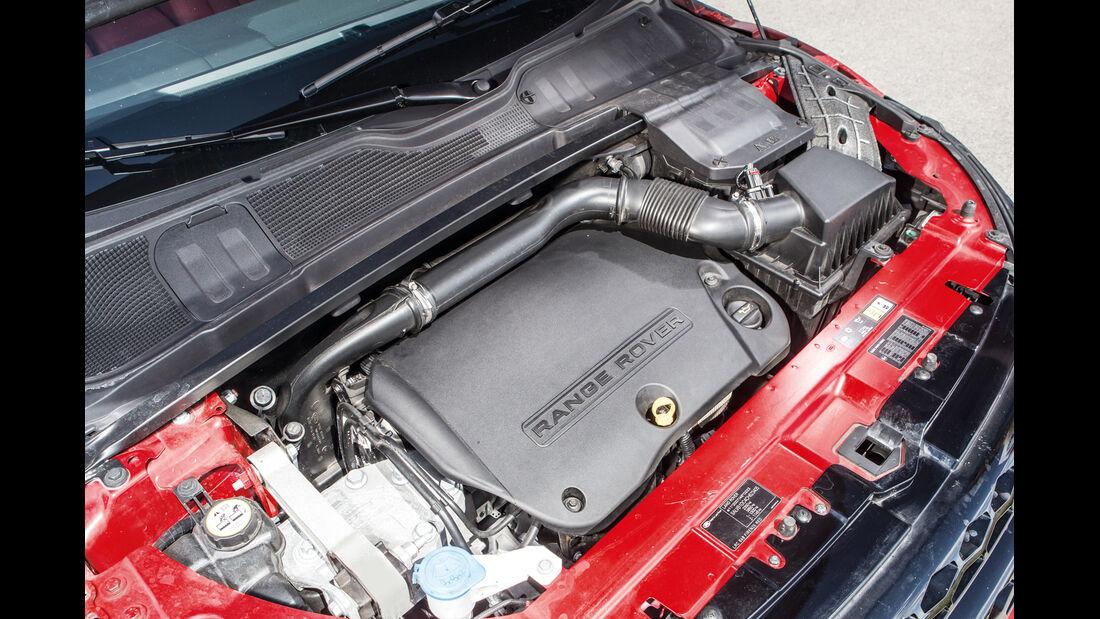 Range Rover Evoque, Motor