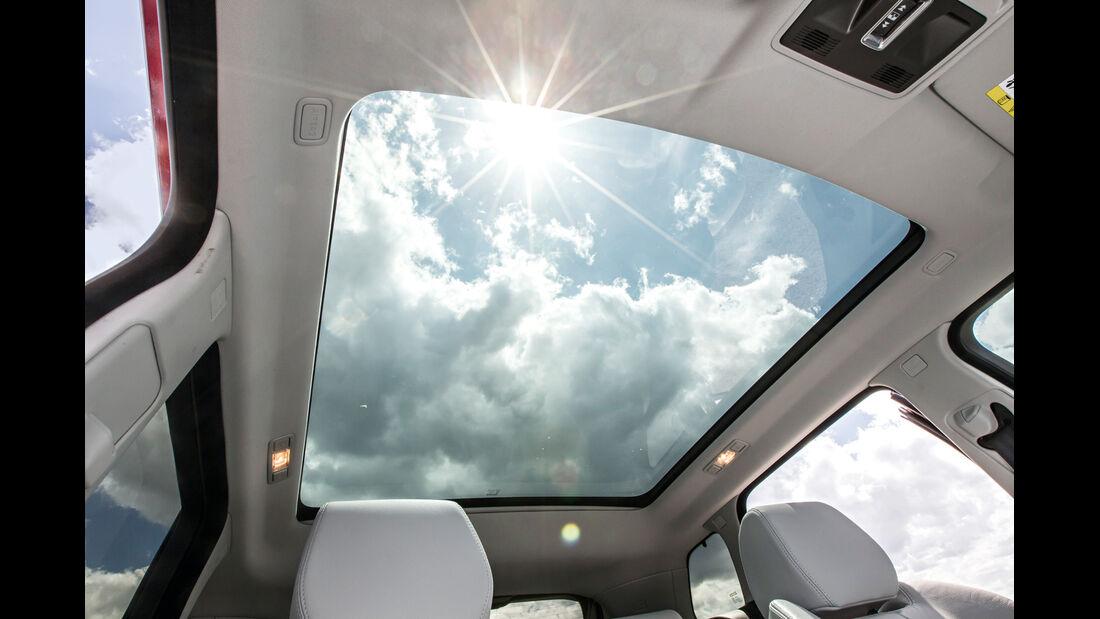 Range Rover Evoque, Panoramadach