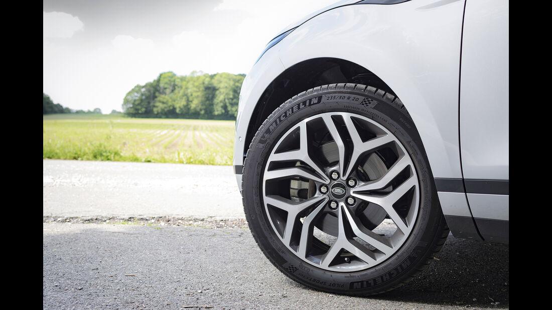 Range Rover Evoque, Rad