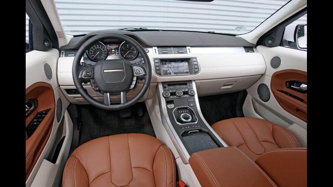 Range Rover Evoque SD4, Cockpit