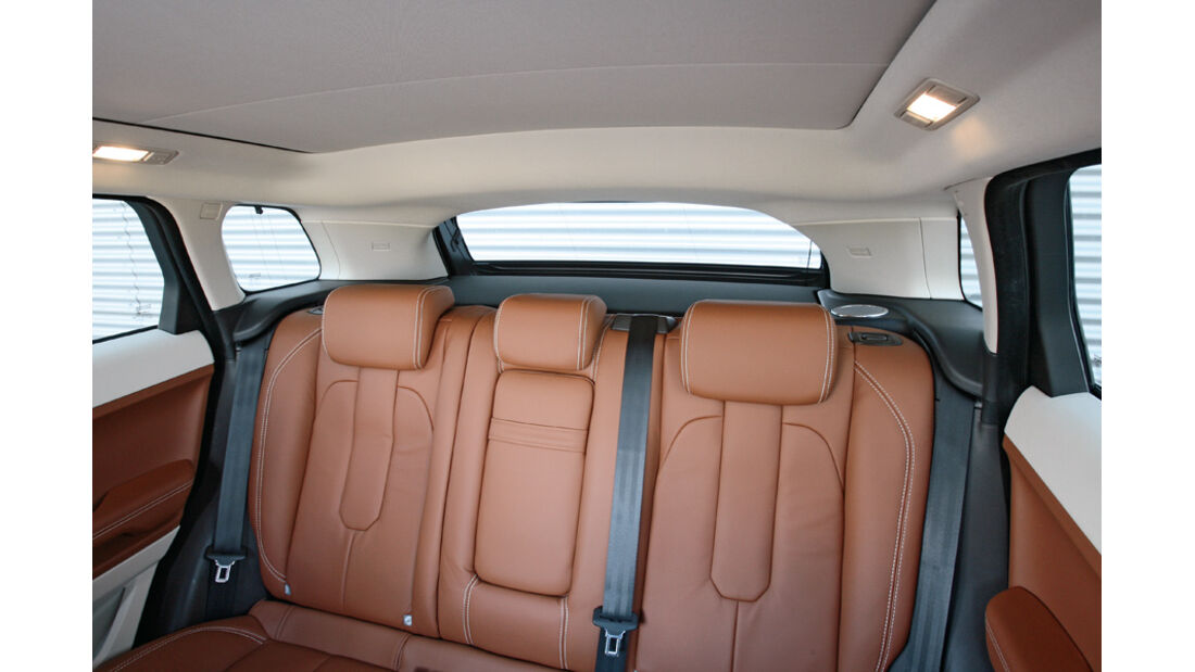 Range Rover Evoque SD4, Fond