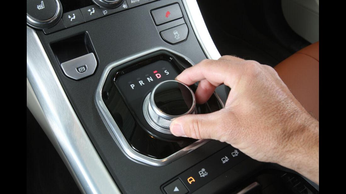 Range Rover Evoque SD4, Regler