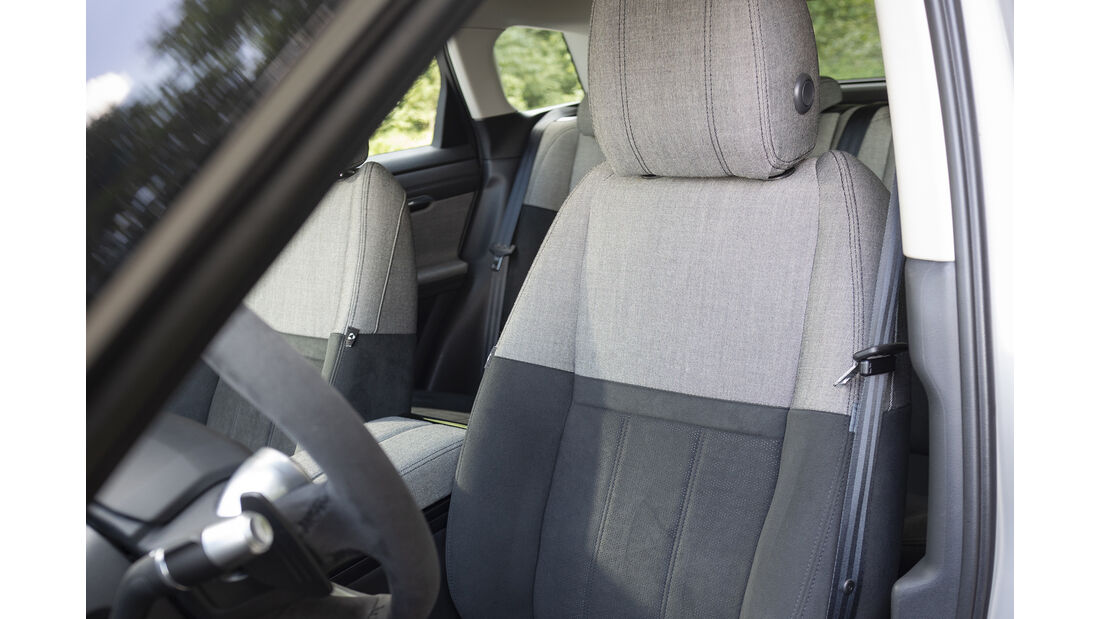 Range Rover Evoque, Sitz